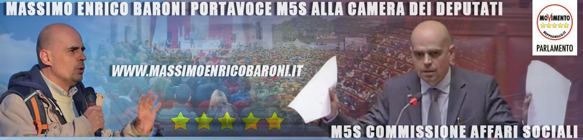 Massimo Enrico Baroni Cittadino 5 Stelle