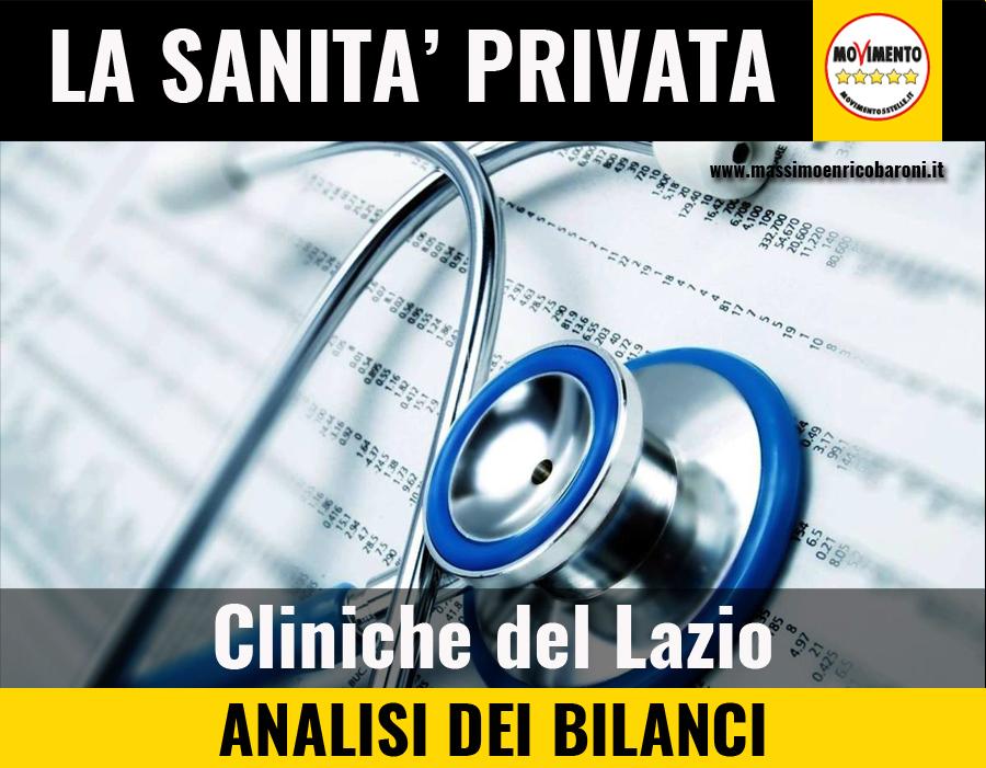 analisi dei bilanci cliniche private del Lazio